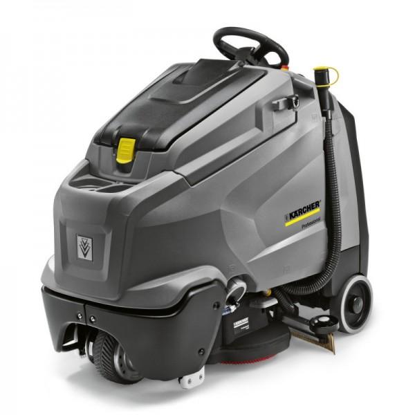 德国凯驰B150 R + D90驾驶式洗地吸干机,紧凑高效