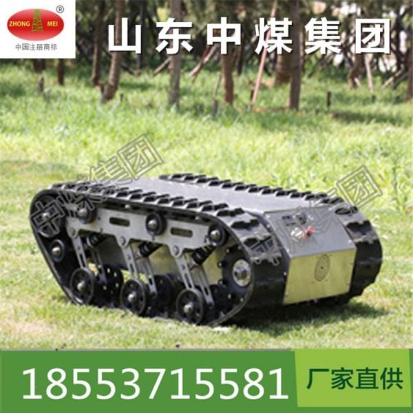 ZM履带底盘机器人为创造者提供一个智能平台