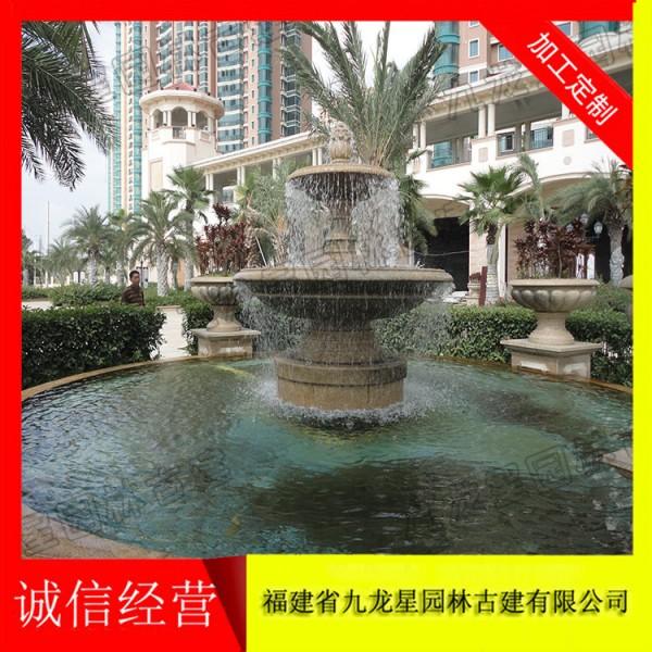 景观喷泉雕塑 喷泉水景厂