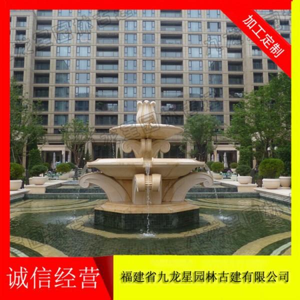 精品石刻喷泉 城市景观雕塑厂家