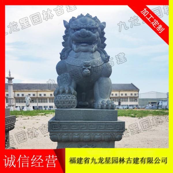 大型石狮子 石狮子雕刻厂家