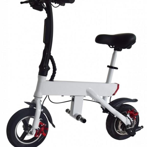 ZGhua折叠智能自行车小型助力车小型代驾车学生车轻便车