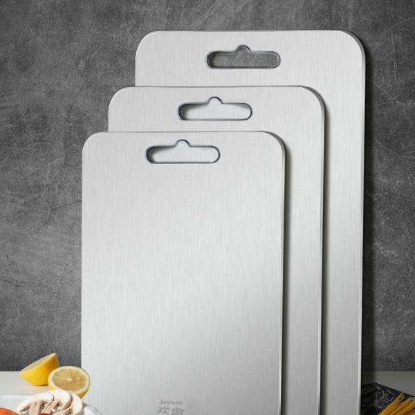 三层复合304不锈钢解冻砧板家用防菌防霉切菜板