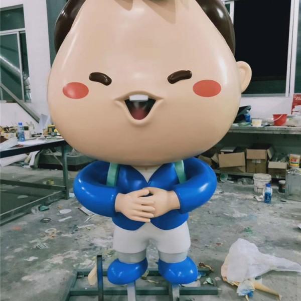 商场活动宣传卡通摆件雕塑定制立体动漫人物模型