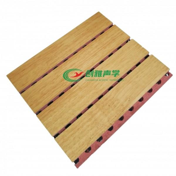 酒店KTV吸声材料槽木吸音板 木质防火板 环保吸声板陶铝板