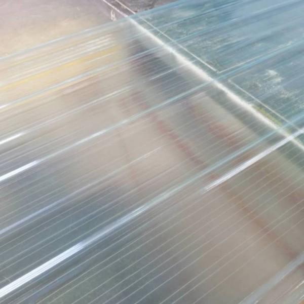 顶棚透明采光板温室顶棚阳光板郑州多凯采光板生产厂家