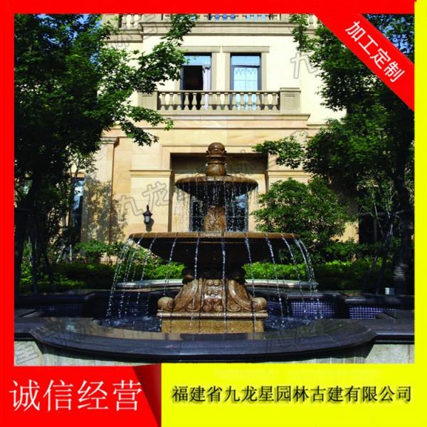 大型喷泉设计 石雕水钵批发厂