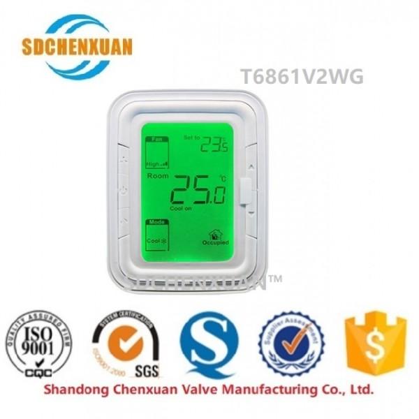 霍尼韦尔大液晶 空调房间温控器 T6861