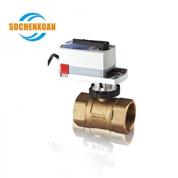 辰轩SDCHENXUAN™ VG61 二通电动球阀螺纹连接
