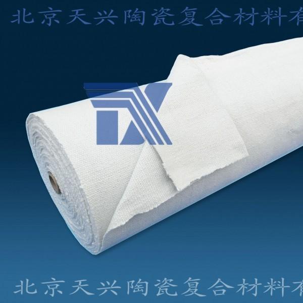 玻纤增强陶瓷纤维布3mm*1m*30m 陶纤绝缘防火布