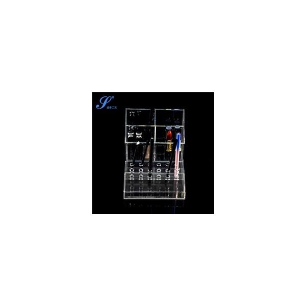 有机玻璃收纳盒-精品笔刷筒个性刷具厂家-宁波盛春