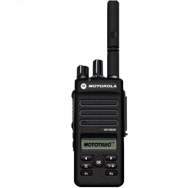 摩托罗拉P6620i数字对讲机数模两用大功率手持机户外