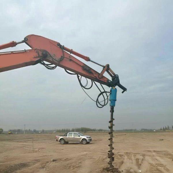 挖机改旋挖钻机