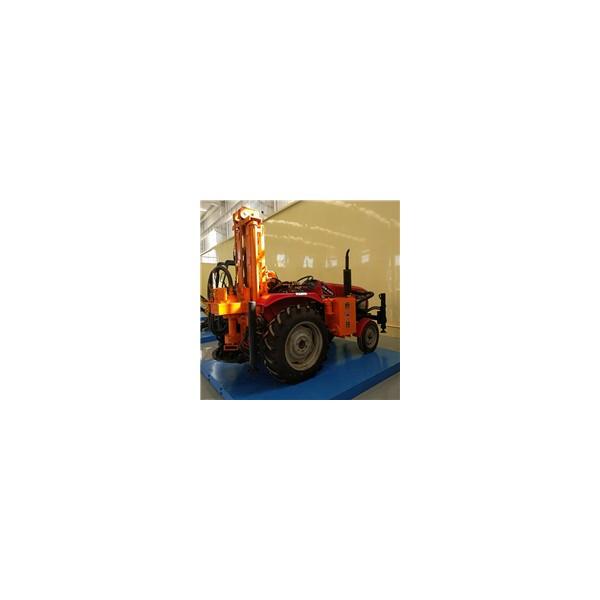 拖拉机式气动钻机