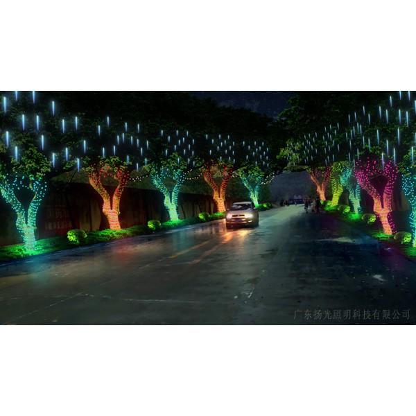 潮州夜景室外泛光照明工程