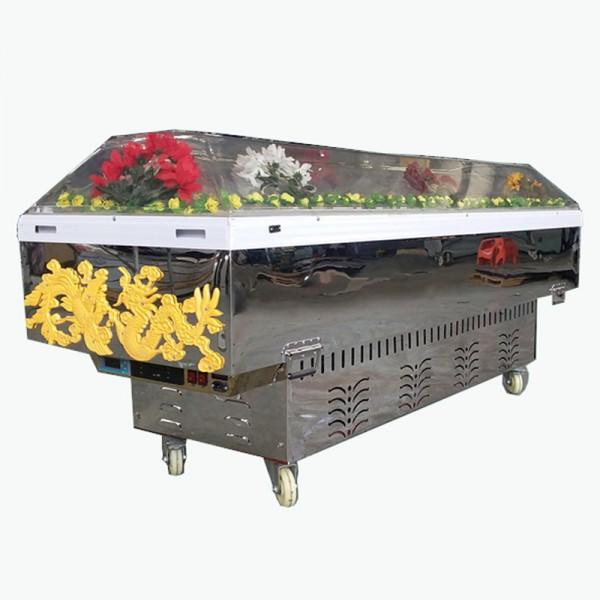 庆阳天安VZA-39水晶棺材哪里能买到外贸批发遍布全球