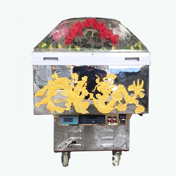孝感天安M-232水晶棺多少钱外贸批发给力大派送