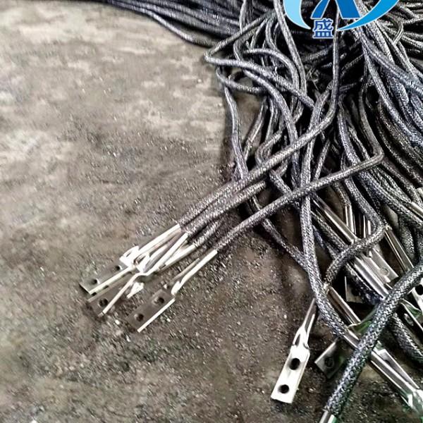 石墨柔性接地线,高导电碳纤维石墨接地线