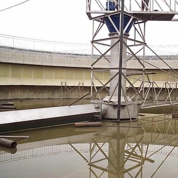 宝福嘉环保中心传动单管吸泥机