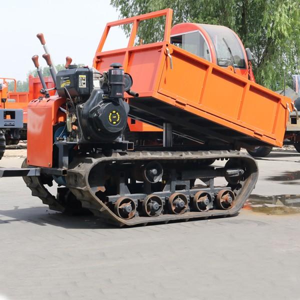 1吨全地形履带运输车 农用田园履带管理运输车厂家