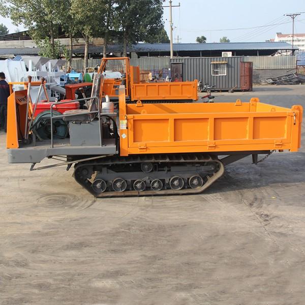 矿用履带自卸车 厂家直销2吨履带田园搬运车爬山虎运输车