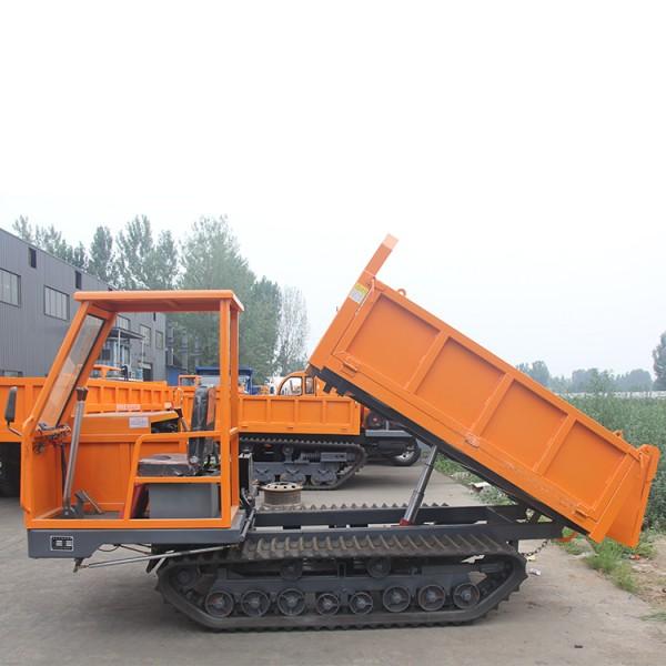 厂家直销4吨矿用履带运输车 全地形履带自卸车行走方便