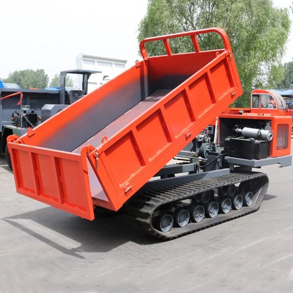 直销5吨履带自卸车 矿用爬山虎运输车搬运车行走方便