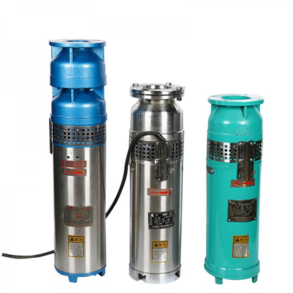 QSP喷泉潜水泵农用灌溉工业景观音乐专用高扬程铸铁喷泉泵