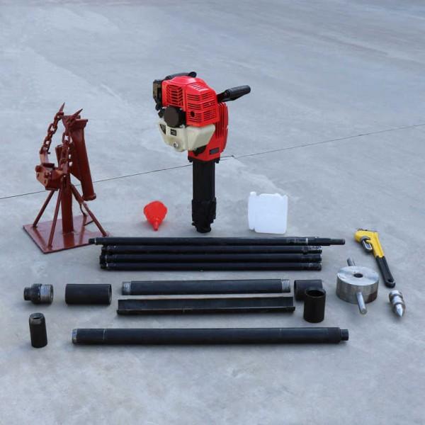 10米手持式土壤取样钻机 JTZ-2汽油机取土钻机一人操作