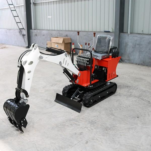 履带挖掘机 08型果园大棚挖掘挖沟机 小型挖掘机农用挖土机