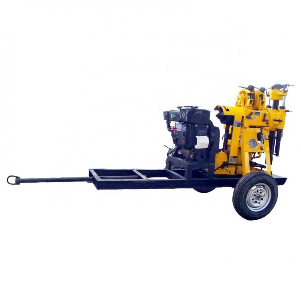 久田XYX-130型自行式地质勘探钻机 百米拖车式岩芯钻机