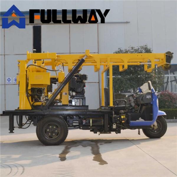 久田XYC-200A地质勘探设备 轮式岩芯钻探机移动方便