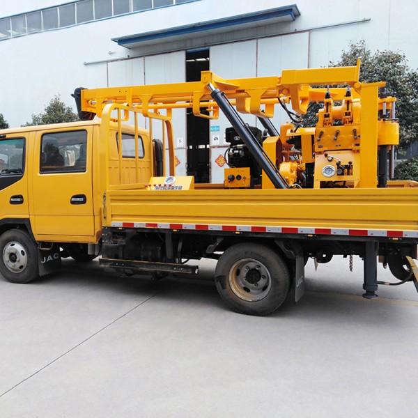 久田XYC-200型地质检测钻机 车载式液压取芯钻机移动方便