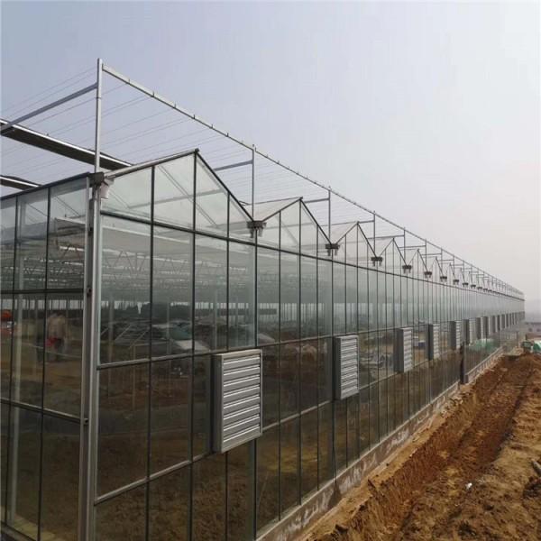 智能玻璃温室设计 生态温室