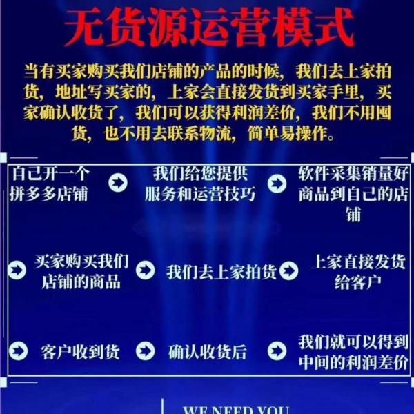 哈尔滨拼多多群控软件加盟,拼多多运营技术教学