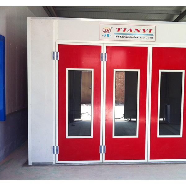 环保汽车烤漆房焗漆房标准型豪华钣金噴油漆房配件家具无尘喷漆房