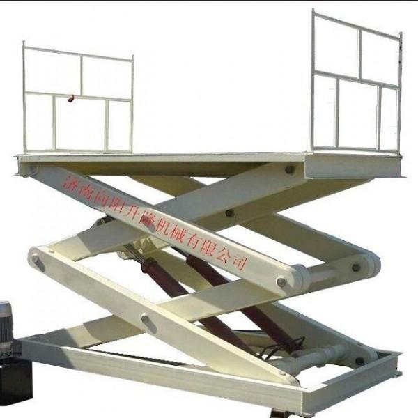 山西大同固定剪叉式升降机固定小型液压装卸台上车台