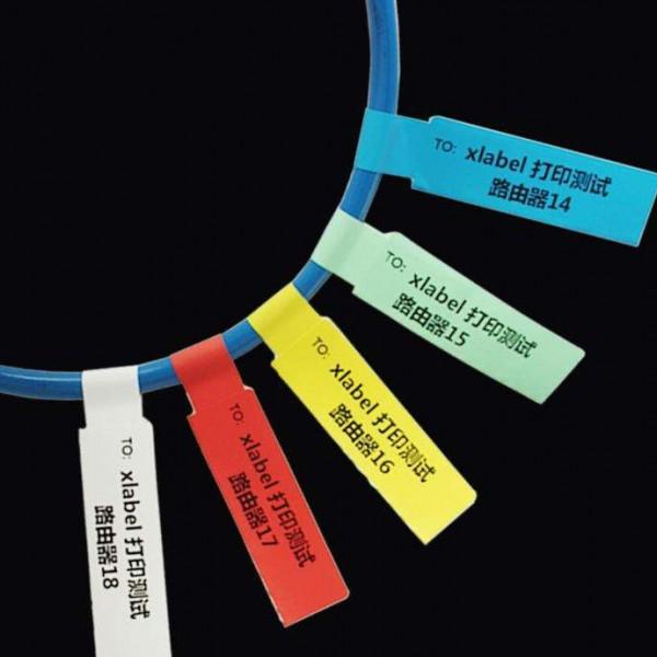 P型线缆标签如何选择颜色来区分各级别电路和功能?