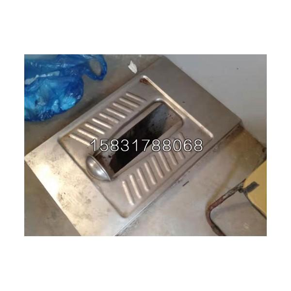304不锈钢推拉式旱厕蹲便器