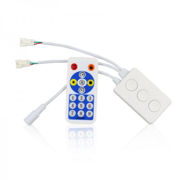SP601E全彩双输出控制器幻彩灯带手机蓝牙APP智能遥控