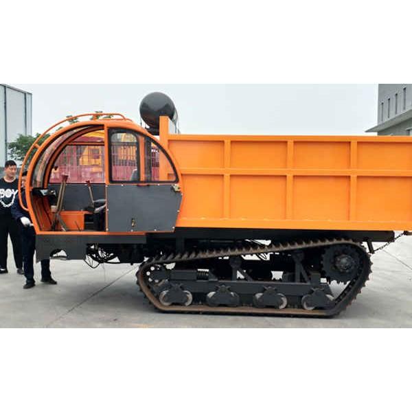 柴油爬坡能力强履带运输车 翻斗农用运输车质量好