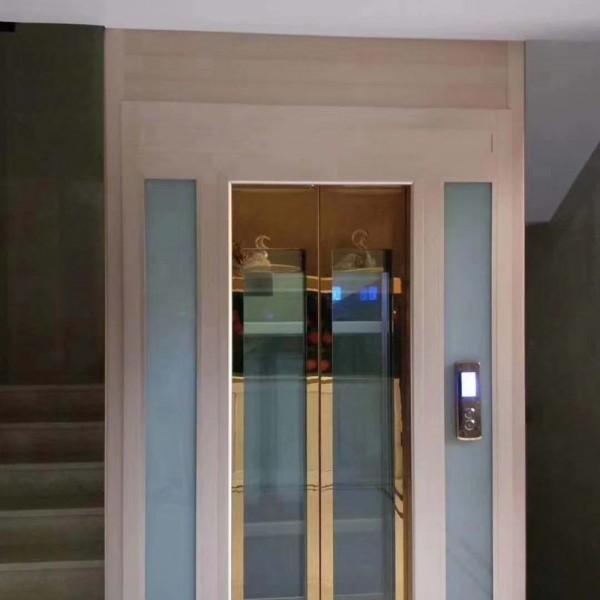 定制别墅家用电梯二层三层四层五层小型电梯无基坑复式跃层电梯