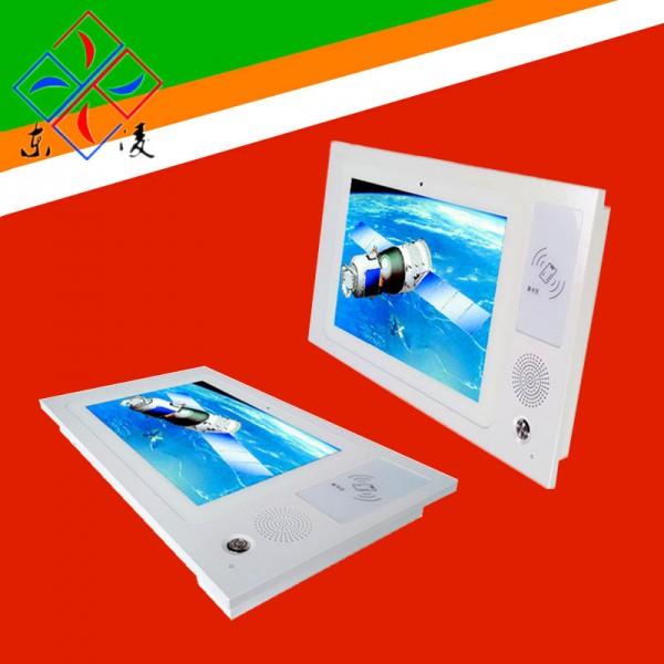 壁挂式10.1寸触摸一体机NFC刷卡电脑4G/GPS