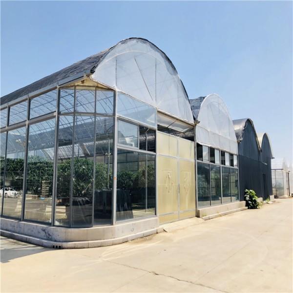 连栋薄膜温室大棚建设工程 薄膜温室大棚设计报价