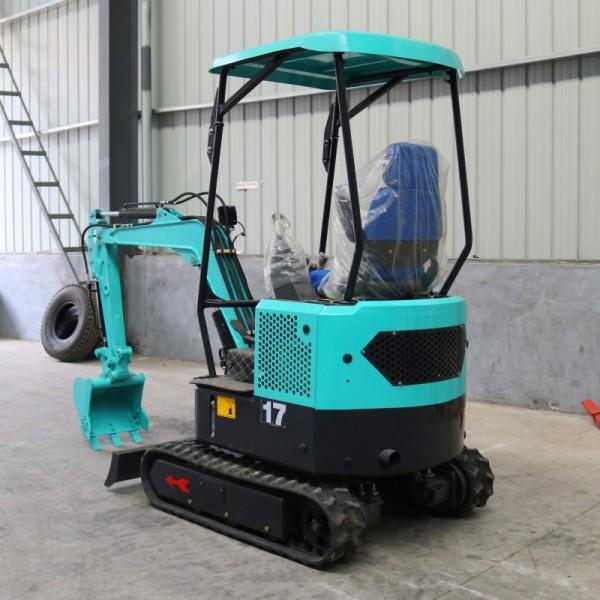 1.7吨无尾履带小挖机 多功能工程小钩机厂家直销