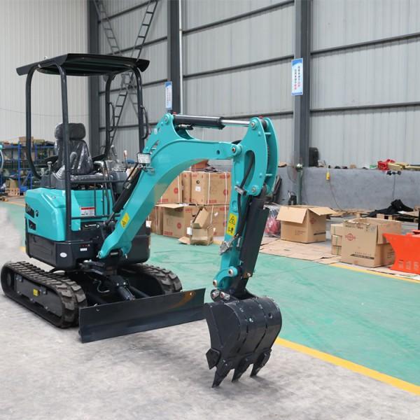 园林改造先导挖掘机 2吨履带式微型挖掘机现货