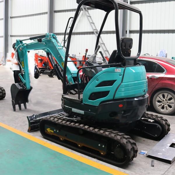 履带多功能园林打勾机 2.5吨新型先导挖掘机