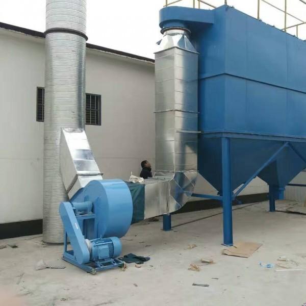 移动式单机脉冲布袋式除尘器打磨抛光环保设备水泥锅炉木工集尘器