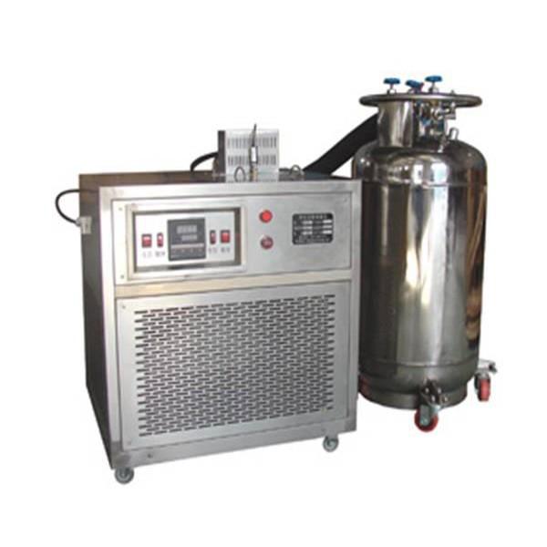 -196度液氮压缩机制冷两用冲击试样低温槽 两用型低温