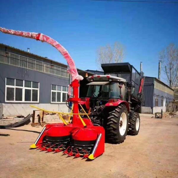 农作物秸秆青储机 背负式青储机价格 轮式圆盘青储机